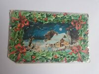 Greeting Postcard Vintage Christmas #80