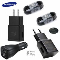 Original Samsung Galaxy Note 9 S8 S9 Plus Wall Adaptive Fast+Car Charger+Type -C