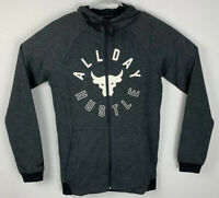 Under Armour Project Rock Full Zip Hoodie All Day Hustle Mens S Small NWT
