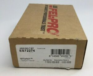 Fel-Pro ES72274 Engine Cylinder Head Bolt Set 017-7269-2