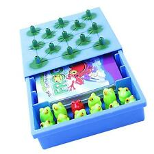 Kids Children Family Board Game Cards Game Frog Jumping Table Game Toy Gift