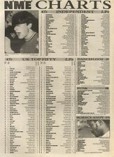 NME CHARTS FOR 8/6/1985 PAUL HARDCASTLE WAS NO.1
