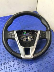 2011 - 2018 VOLVO S60 STEERING WHEEL W/ CRUISE AND AUDIO CONTROL 31250592 OEM