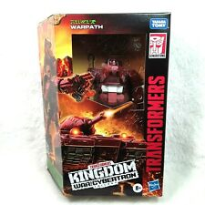 Transformers Kingdom: War For Cybertron Trilogy Warpath Figure Deluxe Class