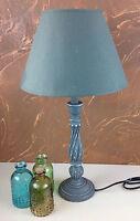 Landhaus Holz Nachttischlampen 66- 6 Schreibtischleuchte Antik 54 cm Lampe