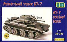 UniModel 1/72 BT-7 Light Tank with 132mm Rockets