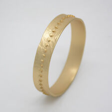 04b88a0a542 chico's jewelry matte gold tone bangle wide hammered vintage bracelet for  women