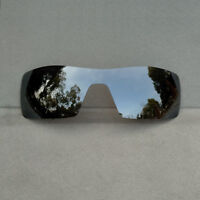 Black Iridium Mirror Replacement Lenses for-Oakley Oil Rig Polarized