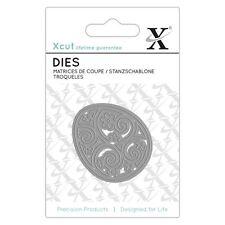 Xcut (Docrafts) Mini Paper Card Scrapbook Craft Dies - Filigree Egg (Easter)