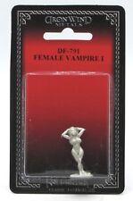 Ral Partha DF-791 Female Vampire I (Monsters) Undead Champion Lady Miniature NIB