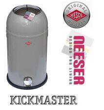Wesco Kickmaster Soft 33l Cool Grey Treteimer Mülleimer