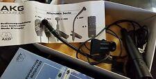 Vintage AKG C409 Microphones MicroMic Mic Mint