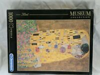 "Klimt ""The Kiss"" Clementoni Museum Collection 1000 Piece Jigsaw Puzzle"