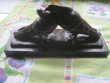 Bronze art déco, deux tourterelles, signé LEMO.