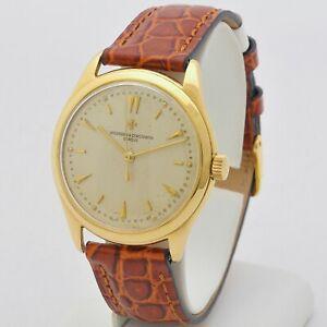 Vacheron Constantin 18 Carats Gold 50s Ref 4870 36 MM Automatic Serviced