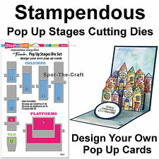 Stampendous ~ Pop Up Stages Cutting Dies ~ Make Your Own Pop Ups