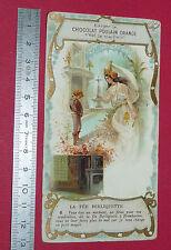 CHROMO CHOCOLAT POULAIN 1900-1910 FEE BERLIQUETTE N°6
