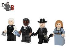 Westworld Minifigure set. Made using LEGO & custom parts with custom prints.