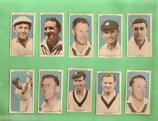 #D62.  SET OF 1948  LEADING  CRICKETERS  CARDS WITH BRADMAN, BREAKFAST FOOD