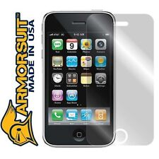 ArmorSuit MilitaryShield Apple iPhone 3GS Screen Protector! Brand New!