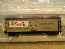 20002010 Eatmor Cranberries 40' Wood Side Reefer Car Brand New In Box