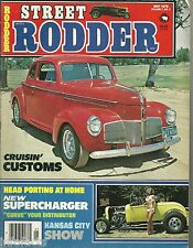 STREET RODDER 1978 MAY KANSAS CITY SHOW,QUAD CITIES RUN,RAT FINK REUNION