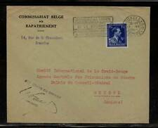 Belgium cover to red cross