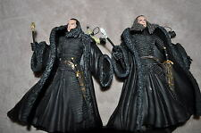 LORD OF THE RINGS LOTR ROTK KING DENETHOR RARE GOLD SCEPTRE VARIANT LOT MUST SEE