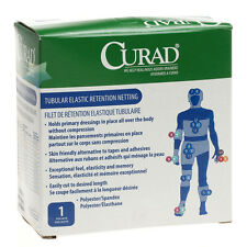 """Medline Tubular Elastic Net Bandage Retention Netting, Size 1 (6"""" x 25 yds)"""