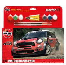 Airfix A55304 Mini Countryman WRC Rally Car Starter Set 1:32 Scale Kit