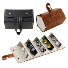 PU Leather Save space PU Bag Sunglasses Box Organizer Storage box Glasses Case