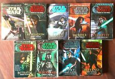 Star Wars complete Legacy of the Force LOTF 9 books lot PB canon legends