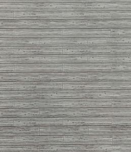 Dolls House Grey Wood Effect Paper Flooring Adhesive Miniature Floorboards 1:12