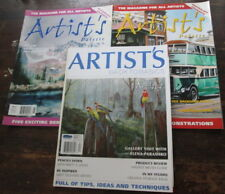 Artist's Back To Basics Art Palette Painting Magazines