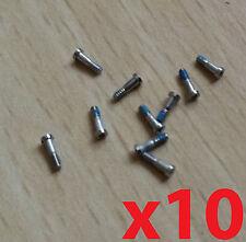 New Genuine Original OEM 10 x iPhone 5/ 5S Bottom Silver 5 Star Pentalobe Screws