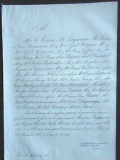 SEIGNEURIE CHARLOTTE SOPHIE TORRAS  HERPIN  KING DOISNARD FAIRE PART deces1865