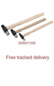 3pc Superior Mini Ball-pein Hammer Set 30, 60 & 110 g (Genuine Neilsen CT4314)