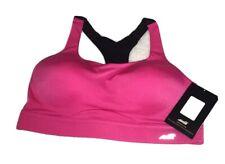34D Avia Women's Wirefree Medium Support Sports Bra, Pink, 34D
