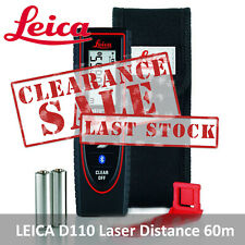 LEICA Disto D110 Laser Distance 60 Meter Range Finder Bluetooth - Clearance Sale