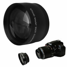 52mm High Speed Telephoto Lens for AF-S DX Nikkor Nikon 18-55mm AF-S 55-200mm
