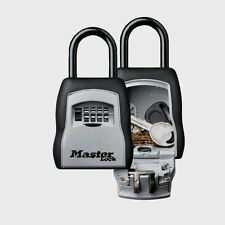 """Master Lock 3-1/4"""" W Set Your Own Combination Portable Lock Box Travel 5400D New"""