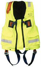 High visibility elasticated jacket for complete with safety Harness XL