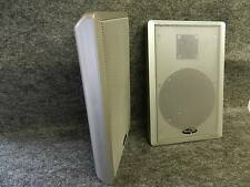 Dynavox WS-502 Flatpanel-Lautsprecher NEU 1 Paar Silver D30028