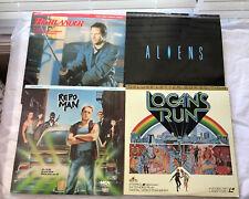 laserdisc movies lot Repo Man Aliens Highlander Logan's Run Action Sci-fi