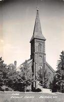 Bayfield Wisconsin~Catholic Church~1940s Real Photo Postcard~RPPC
