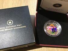 $20 Fine Silver Canada 2013 Purple Coneflower #287#