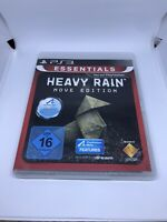 Heavy Rain (Move Edition) (Platinum) (Sony PlayStation 3, 2011) PS3 Game NEW