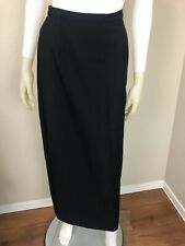 Women's Vintage 1990's Black Classic Pencil Skirt, Size 4 or Small, Pre-Owned