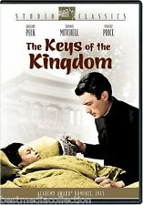 The Keys Of The Kingdom DVD NEW Gregory Peck BRAND NEW