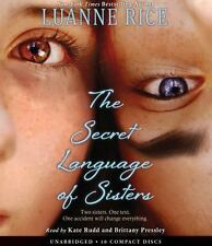 The Secret Language of Sisters by Luanne Rice (2016, CD)
